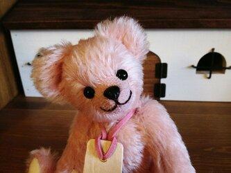 ピーチピンクのおちびテディの画像