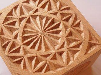 【木工彫刻】チップカービング小箱 #1の画像