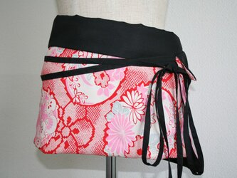 オーバースカート 巻きスカートタイプ リバーシブルの画像