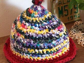 カラフル帽子(ベビー)の画像