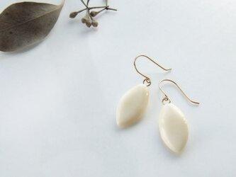 k10✼Makkoh pierced earrings 92009の画像