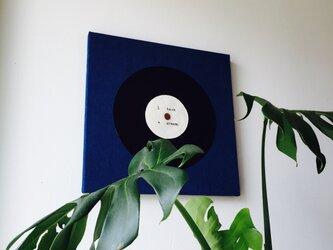 ファブリックパネル レコードの画像