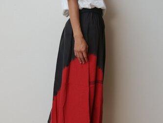 【染めあそび】powan skirt short cotton100の画像