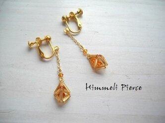 himmeli earrings chain Topazの画像