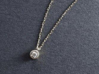 Verseau -Necklace-◇K18WG×Diamond 0.03ctの画像