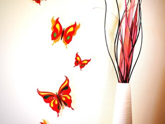 Papillon Rouge~Wall ART~の画像