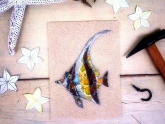 Sea glass wall decoration   「熱帯魚」の画像
