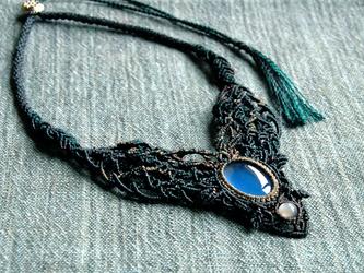 blue chalcedony × moonstone / forêt de l'aubeの画像