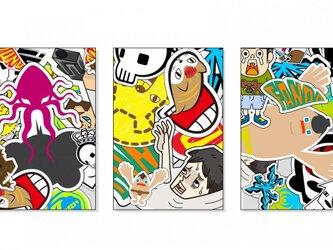 コットンペーパー ポストカード【3点セット】の画像