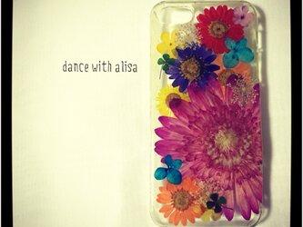iPhoneケース 《flower basket》の画像