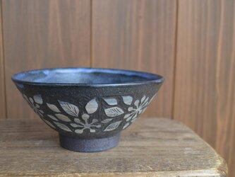 ご飯茶碗-南天の画像