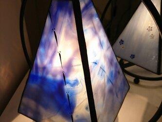 絵付けステンドグラスランプ~追の画像