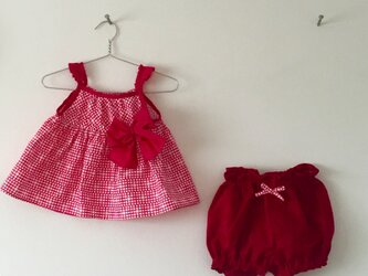 *出産お祝いに* セットアップベビー服(70〜75cm)の画像