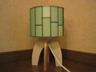 ポジャギシェードのテーブルランプの画像