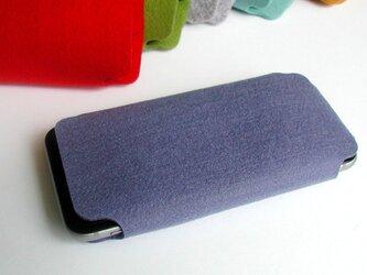 iPhone6/6s/7/8用ケース〈ブルー〉の画像