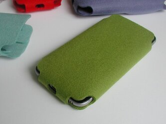 iPhone SE/8/7/6s/6用ケース〈グリーン〉の画像