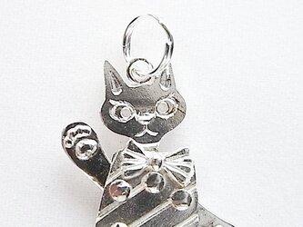 猫ペンダントの画像