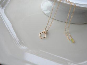 【k14gf】simple necklace【受注製作】の画像
