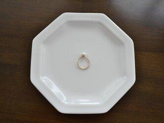 【k14gf】pearl ring【受注製作】の画像