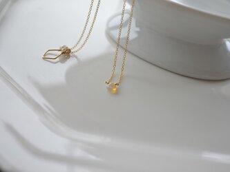 【k14gf】precious opal necklace【受注製作】の画像