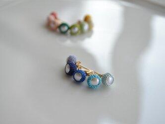 【k14gf】-片耳-wrap pierced earring【受注製作】の画像