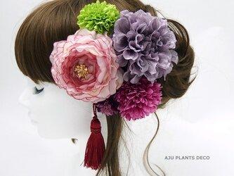 髪飾り(25)~ラナンxダリア~の画像