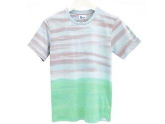メンズタイダイTシャツ<エコビーチ> サイズLの画像