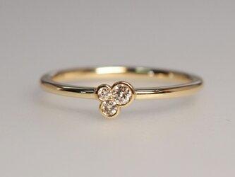 K18メレダイヤ/指輪の画像