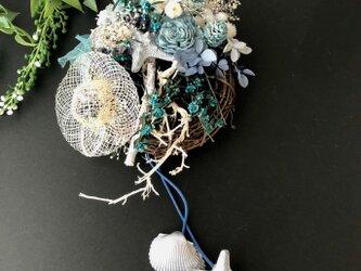 Starfish summer miniwreathの画像