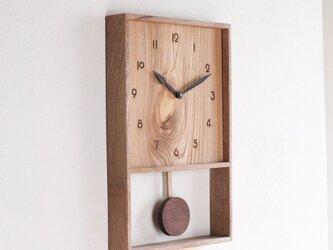 振り子時計 樫材2の画像