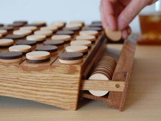 木製リバーシ 受注製作の画像