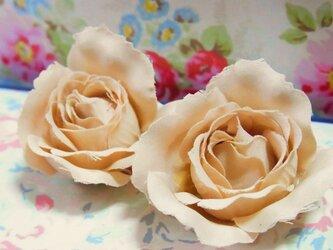 Antique  Flower ピアス(Rose)の画像