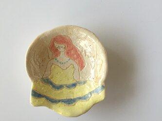 肖像画の豆皿(4)の画像
