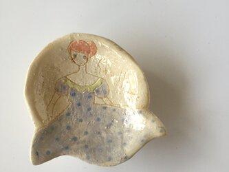 肖像画の豆皿(5)の画像