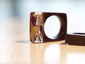 甘〜いポプリのリング(チョコレート)の画像