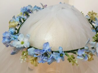 エルザの花冠 ジャスミンとブプレリューム☆*:.くすみブルーの画像