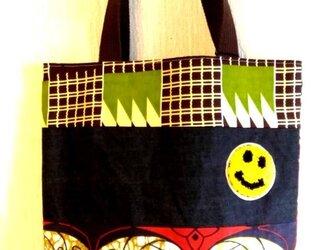 リバーシブル☆トートバッグの画像