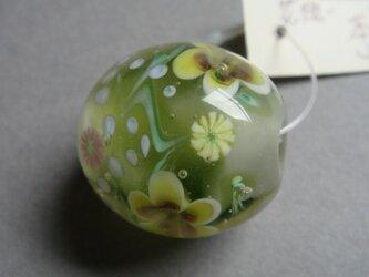 とんぼ玉(花想い)の画像