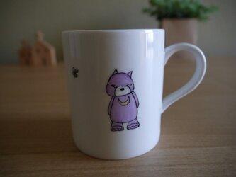 月のわ熊 マグカップの画像