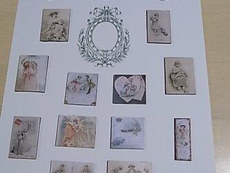 ビクトリアンマグネット(中) アンティーク風の画像