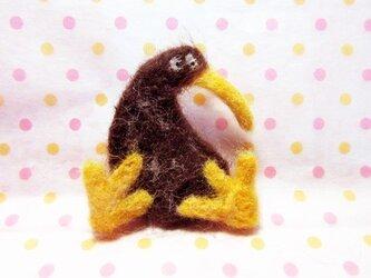 キーウィのブローチの画像