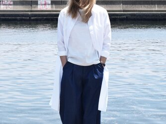 ladies shirt onepiece bansyuori シャツワンピースの画像