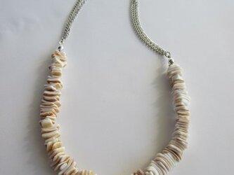シェル・さざれのネックレス  の画像