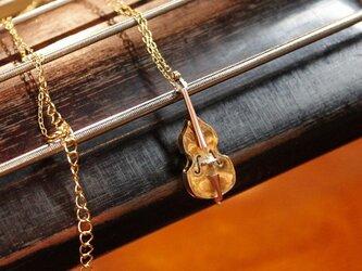 奏者のためのコントラバス ネックレス br.verの画像