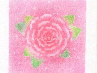 Mariko Hirai シャボン玉アートパステル原画*あなたは自分が思っているより美しいの画像