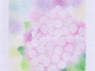 Mariko Hirai シャボン玉アートパステル原画*【愛に包まれて】の画像