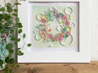 Mariko Hirai  アートパステル*Mariko Style  原画 【あの日のきらめきを】の画像