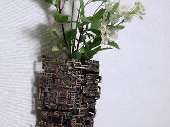 壁掛けの花器3の画像