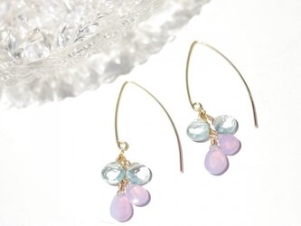 Scorolite×Aquamarine*Pierceの画像