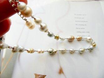 バロックパール  ネックレスの画像